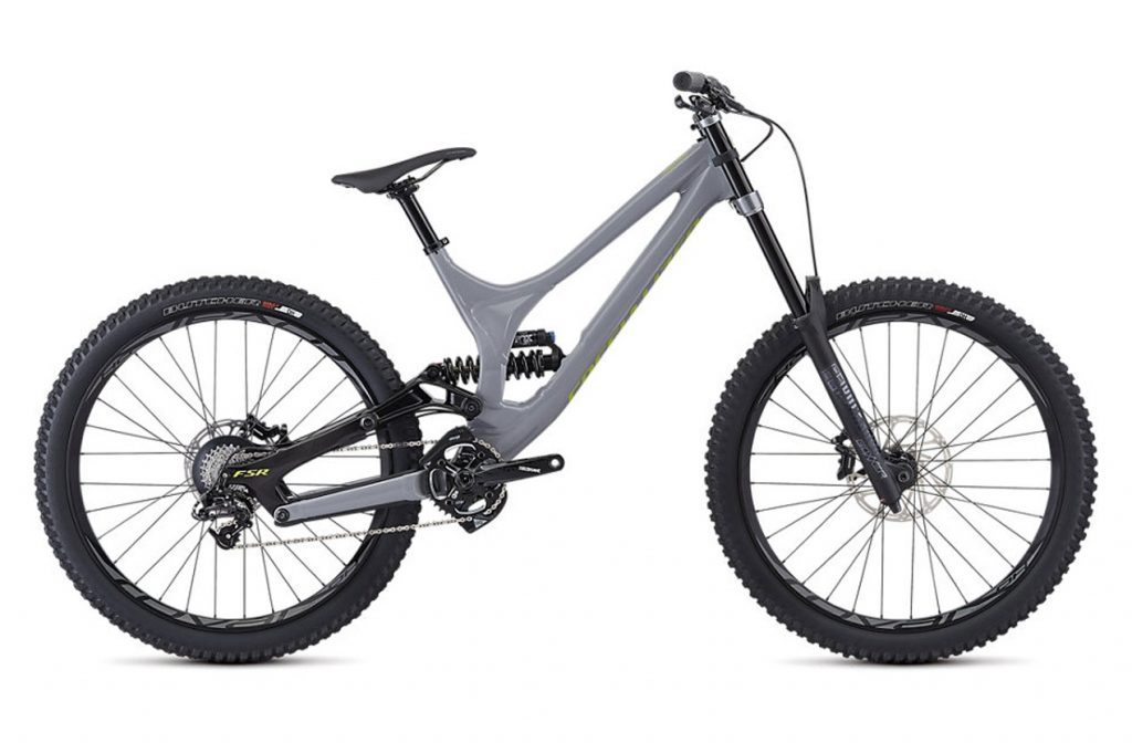 Specialized Demo Alloy Mountain Bike for hire in the Alps
