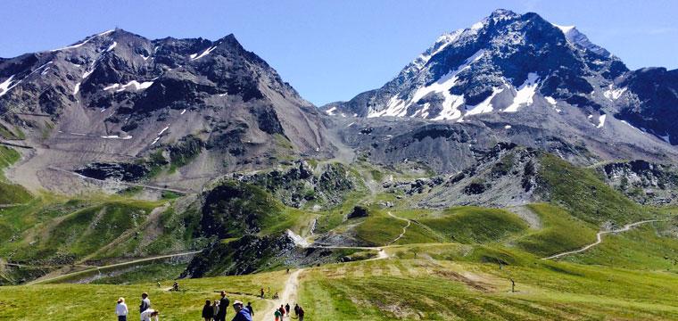 Les Arcs and La Plagne mountain biking