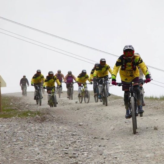tignes mountain bike lesson