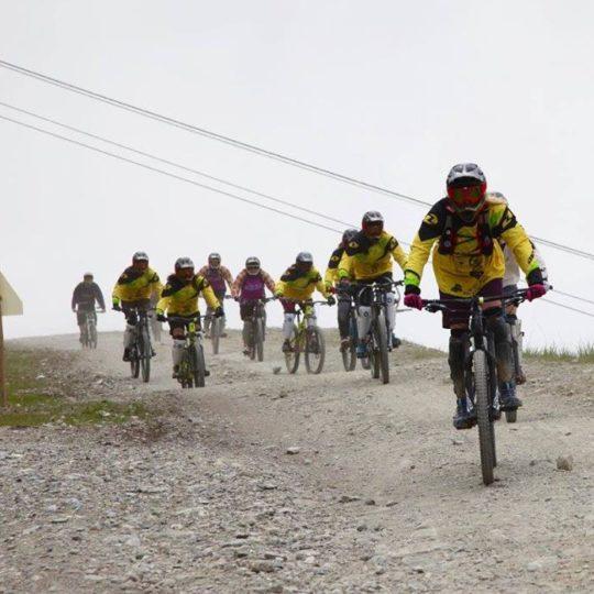 tignes mountain bike lesson