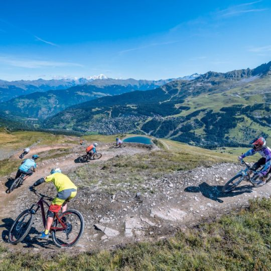 meribel MTB bike park