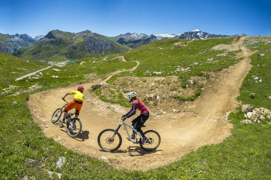 Mountain biking in Morzine