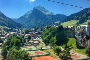 MTB cable car morzine summer