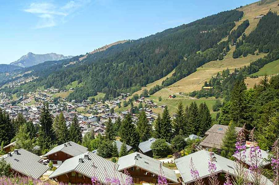 Les Gets Alps Webcam