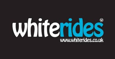 White rides transfers in the Alps