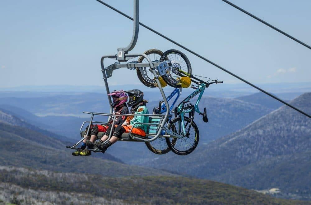 Morzine Mountain Bike Chair Lift